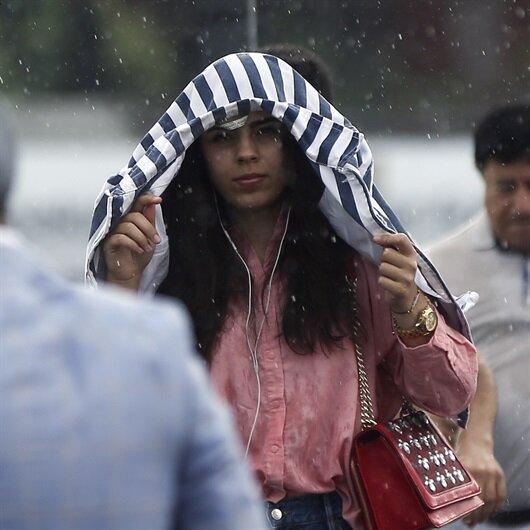 İstanbul ve bazı illere yağış uyarısı