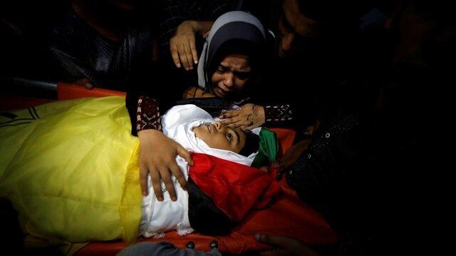 Shadi Abdel-Al. 11 yaşında. İsrail askerleri tarafından Gazze sınırında katledildi. (Fotoğraf: Reuters)