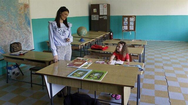 Köy okulunun tek öğrencisi