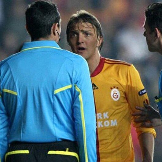 Galatasaray'a sabıkalı hakem