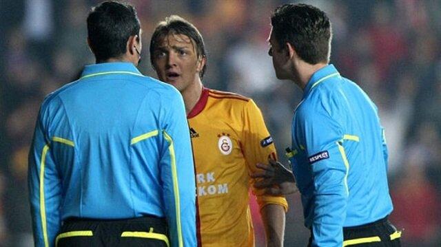 Gianluca Rocchi 2010 yılında Galatasaray-Atletico Madrid maçındaki yönetimiyle tepki çekmişti.