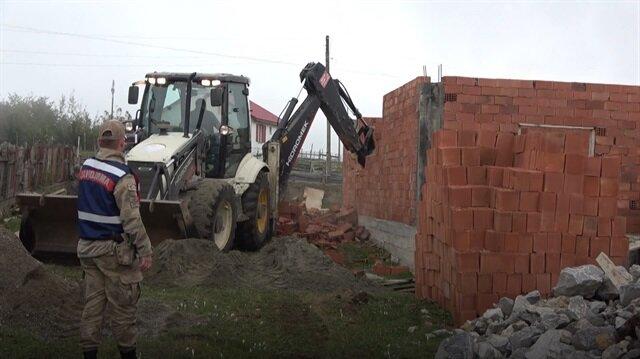Doğu Karadeniz kıyılarında 'büyük yıkım' başladı