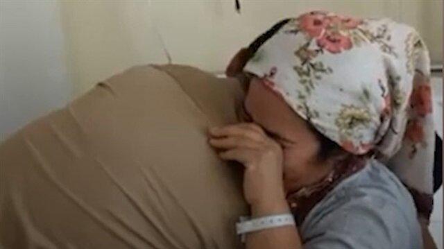 Hasta annesine sürpriz yapan asker duygulandırdı