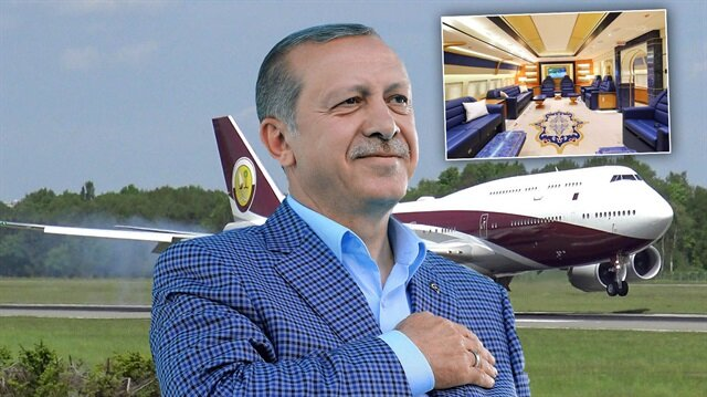 Cumhurbaşkanı Erdoğan Katar Emiri'nin hediye ettiği uçağın perde arkasını açıkladı