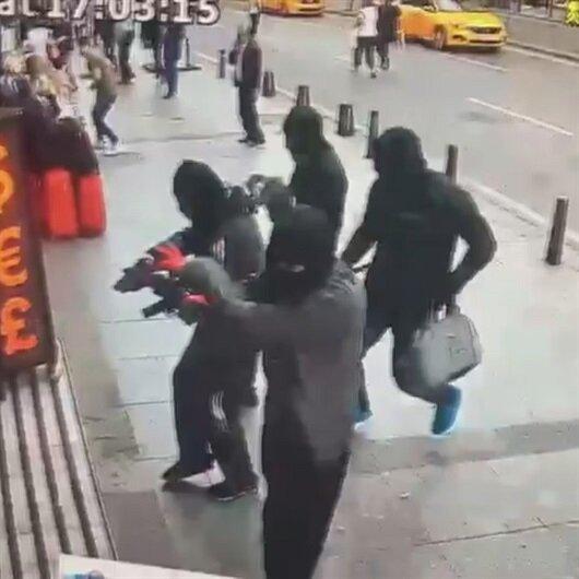 Şişli'deki döviz bürosunu soyan iki kişi yakalandı