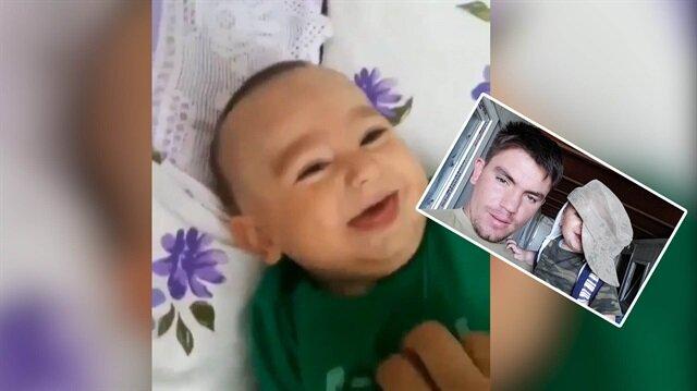 Şehit Bedirhan bebeğin görüntüleri izleyenlerin yüreklerini dağladı