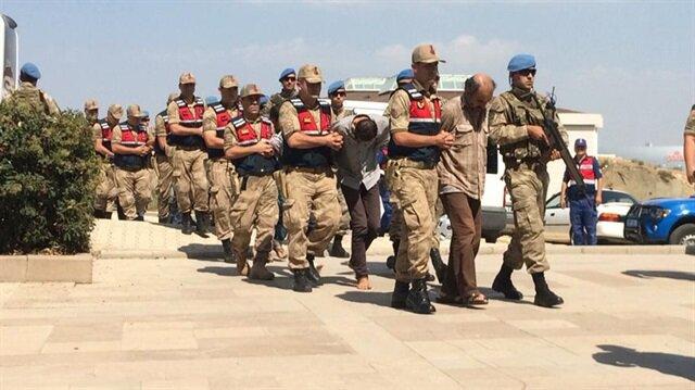 Teröristler tutuklandı