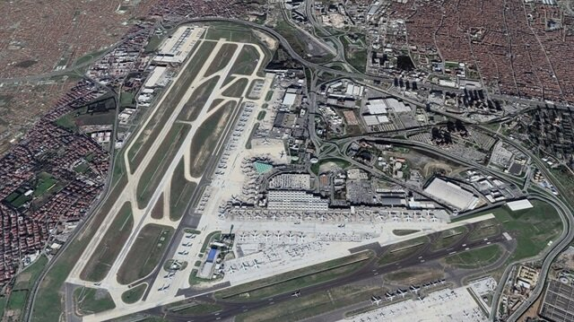 مطار أتاتورك الدولي ثالث أفضل مطار بالعالم