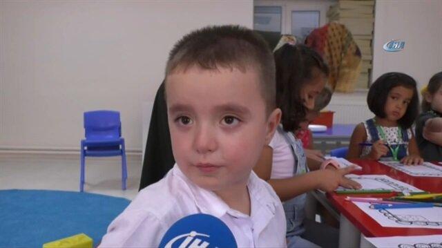 Yeni okula başlayan Giray: Terledim terledim ağlamadım