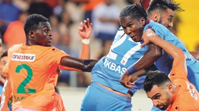 Trabzonspor Alanya'da kayıp