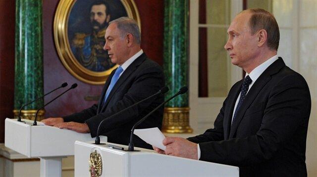 Putin ve Netanyahu arasında 'uçak' görüşmesi