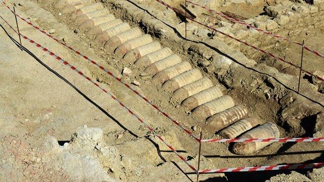 Çanakkale'de 103 yıllık patlamamış top mermileri bulundu