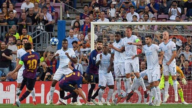 Messi şov yaptı, Barcelona farklı kazandı
