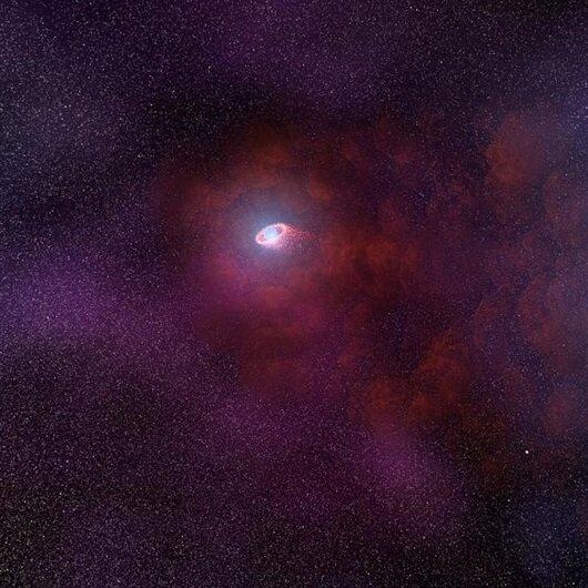 Nötron yıldızında olağan dışı kızılötesi yayılım gözlendi