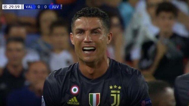 Ronaldo gözyaşlarına boğuldu