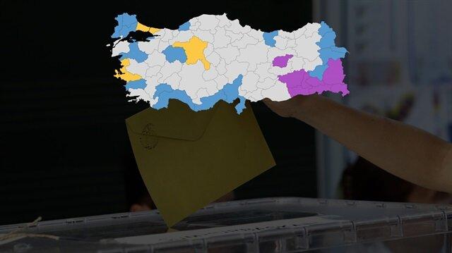 MHP'nin CHP ile HDP'nin eline geçmesini istemediği 30 il