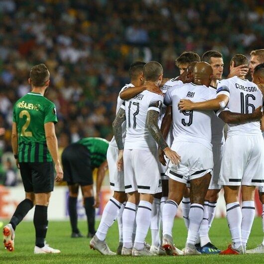 Akhisar-Krasnodar: 0-1