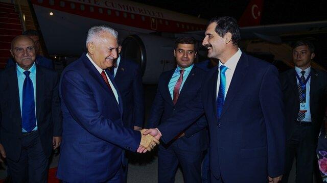TBMM Başkanı Yıldırım Azerbaycan'a gitti