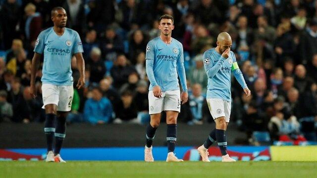 Manchester City'den kötü rekor