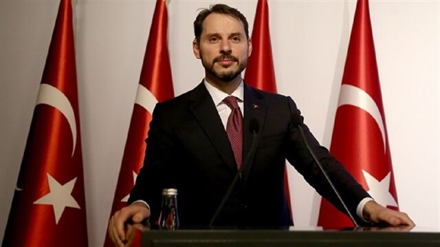 Turkey's Treasury and Finance Minister Berat Albayrak