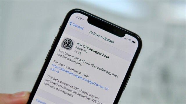 iOS 12'de şaşkına çeviren hata
