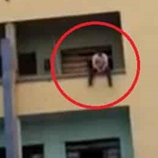 شاهد: كيف أجهض الدفاع المدني البرازيلي محاولة انتحار شاب بطريقة لافتة؟