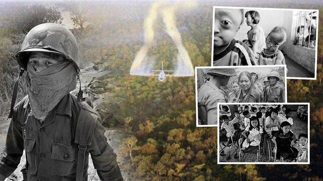 ABD 8 milyon bombayla Vietnam'ı vurdu