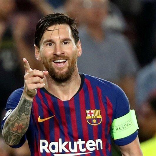 Devler Ligi'nde haftanın futbolcusu Messi oldu