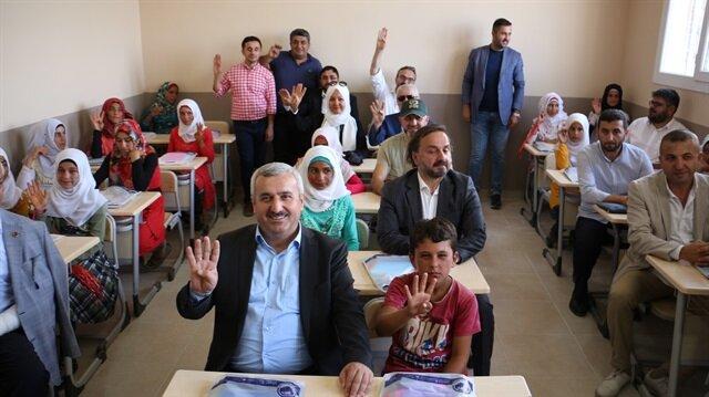 بلدية تركية تفتتح مدرسة شمالي سوريا