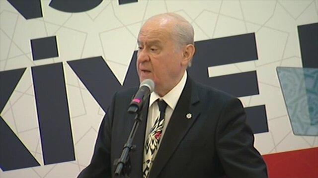 Bahçeli'den CHP'ye sert 'Esad' eleştirisi