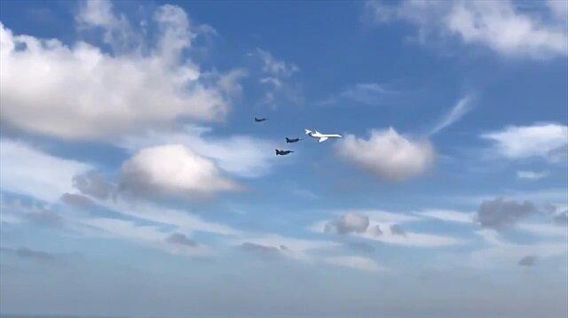 Başkan Erdoğan F-16'lar eşliğinde TEKNOFEST'e geldi