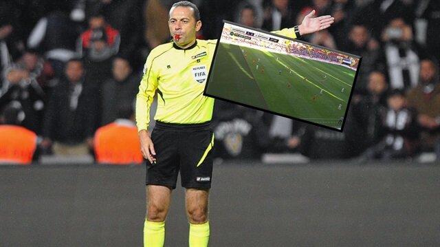 Cüneyt Çakır'ın yönettiği maçta inanılması güç karar