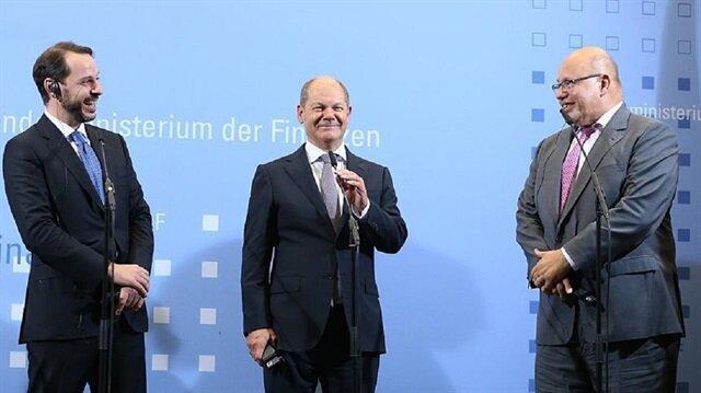 وزير الاقتصاد الألماني: تركيا بلد قوي وسليم اقتصاديًا
