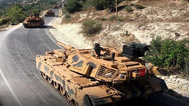 تعزيزات عسكرية تركية جديدة تصل حدود إدلب