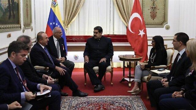 فنزويلا تُثمن الدعم التركي لها في الحصار الإقتصادي