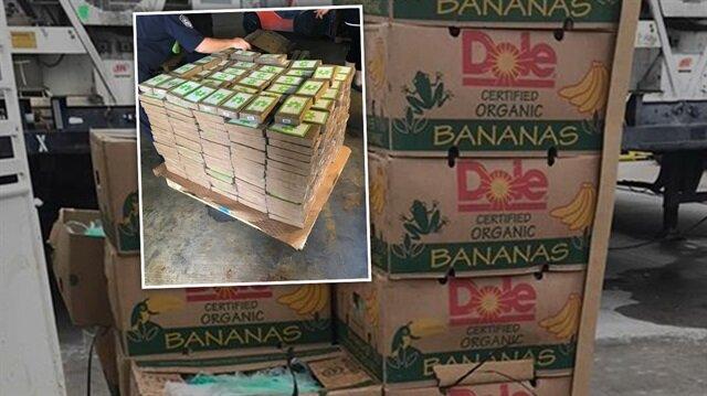Cezaevine bağışlanan muz kolisinden 18 milyon dolarlık kokain çıktı