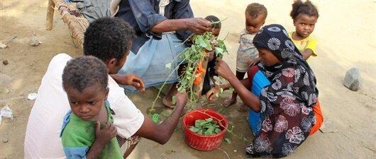 Yemen'i açlık vuruyor