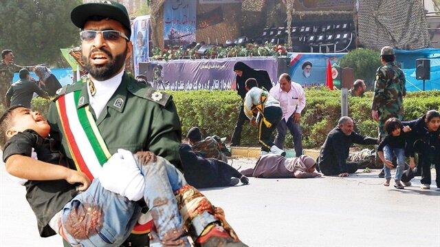 Askeri geçitte terör saldırısı