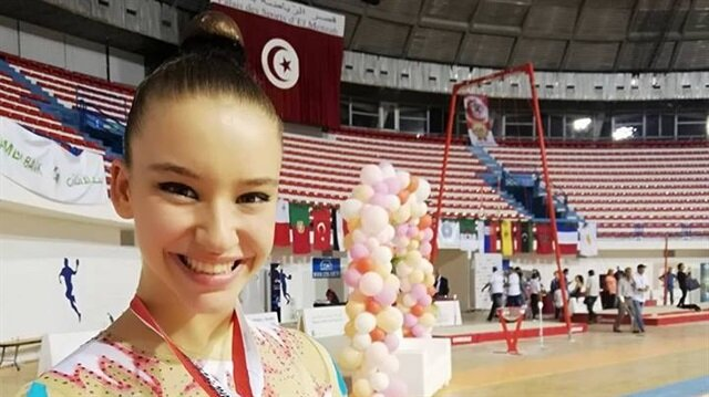 Turkish gymnast wins gold in Tunisia