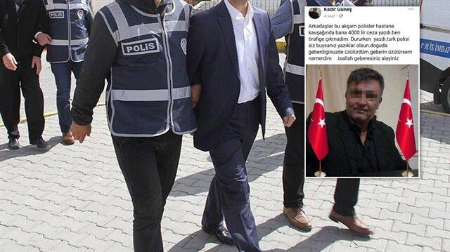 Sosyal medyadan polislere hakaret eden muhtara gözaltı