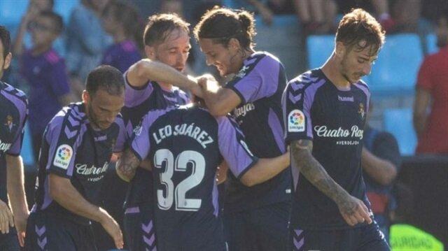 Enes Ünal Valladolid'de ilk golünü attı