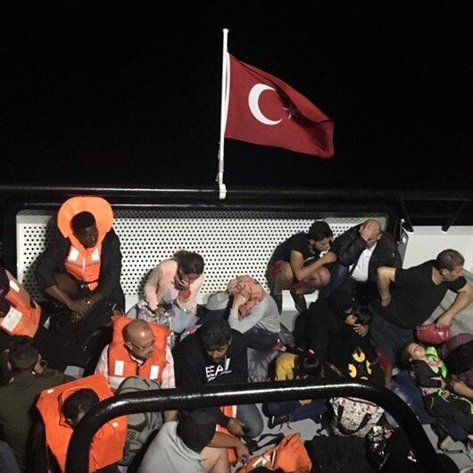 ضبط 251 مهاجرا غير نظامي غربي تركيا