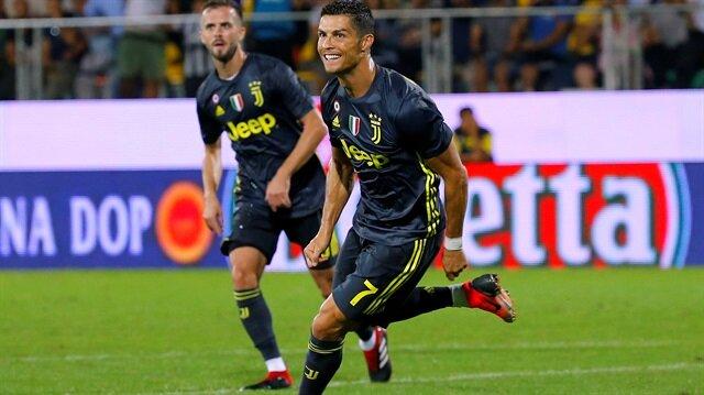 Ronaldo bu haftayı da boş geçmedi