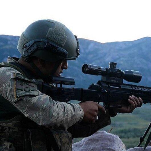 """تحييد إرهابيين اثنين من """"بي كا كا"""" جنوب شرقي تركيا"""