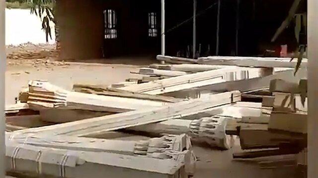 Çin güçleri Doğu Türkistan'da cami yıktı