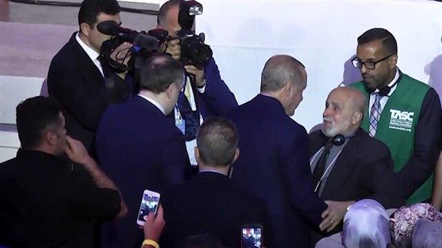 Erdoğan'ın ABD seyahatine damga vuran kucaklaşma!