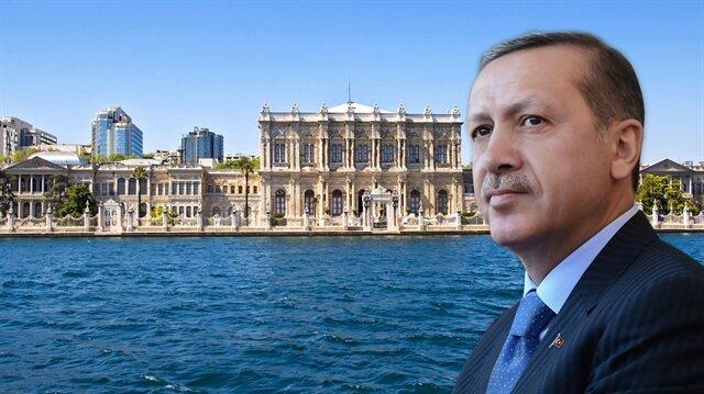 Cumhurbaşkanı Erdoğan Dolmabahçe'ye geri dönüyor