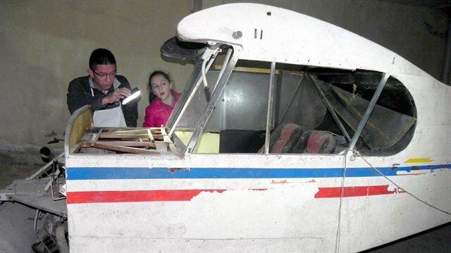 Bodrumdan uçak çıktı