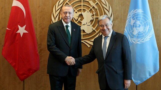 Erdoğan'dan diplomasi trafiği