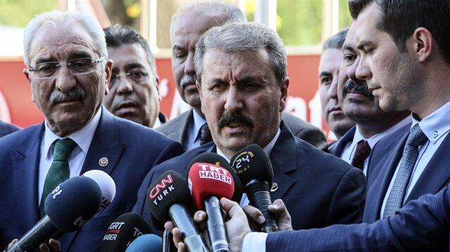 BBP idamı 1 Ekim'de Meclis'e getirecek